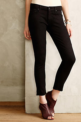 The Looker cropped skinny jeans Mother