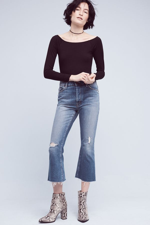 Mother Mother Nomad High-Rise Kick Flare Jeans