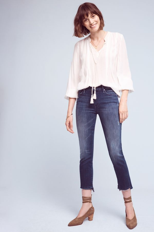 Mother Mother Rascal Mid-Rise Jeans