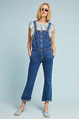 Slide View: 1: M.i.h Tribe Dungaree Overalls