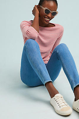 Slide View: 1: M.i.h Bridge High-Rise Skinny Jeans