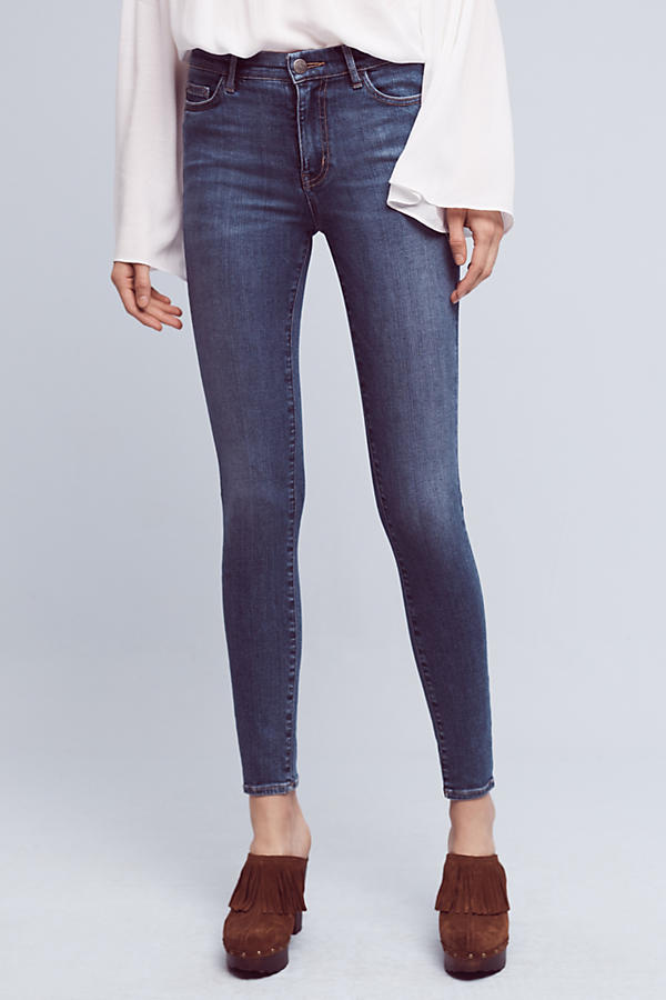 MiH Bodycon Mid-Rise Skinny Jeans