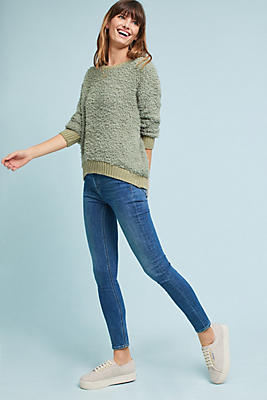 Slide View: 1: M.i.h High-Rise Bridge Slim Ankle Jeans