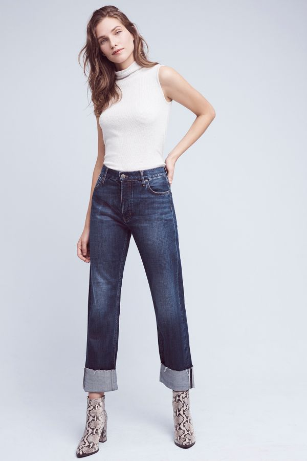MiH MiH Phoebe High-Rise Cuff Jeans