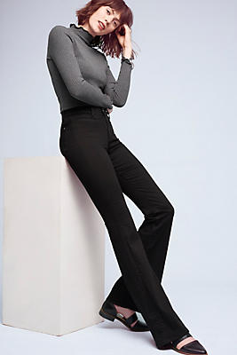 Slide View: 1: M.i.h. Marrakesh Mid-Rise Slim Flare Jeans