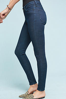 Slide View: 1: M.i.h. Bodycon Mid-Rise Skinny Jeans