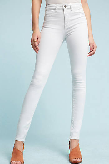 White Jeans For Women | Anthropologie