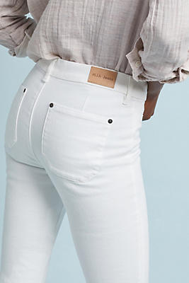 Slide View: 2: MiH Marrakesh Mid-Rise Slim Flare Jeans