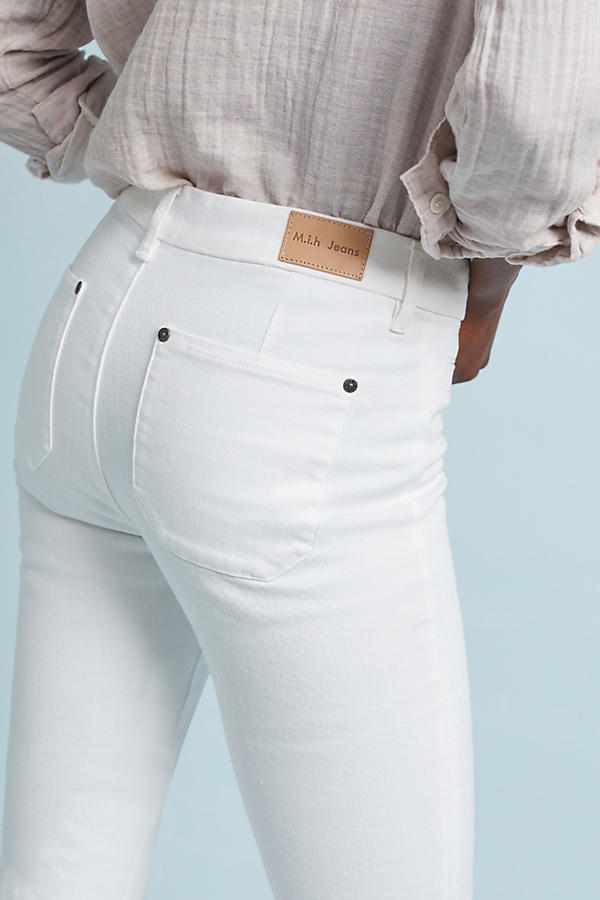Slide View: 2: M.i.h Marrakesh High-Rise Slim Flare Jeans