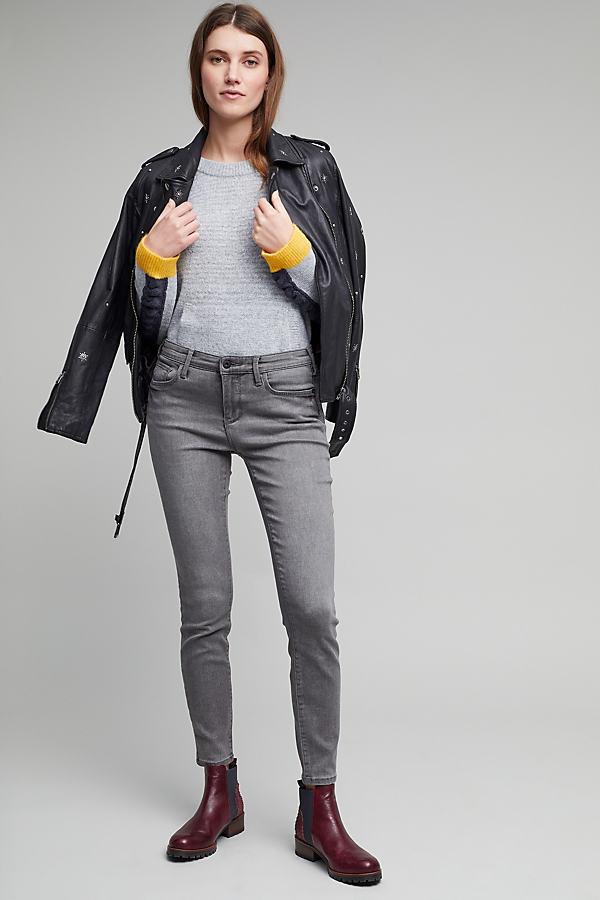 Pilcro High-Rise Serif Jeans - Carbon, Size 25