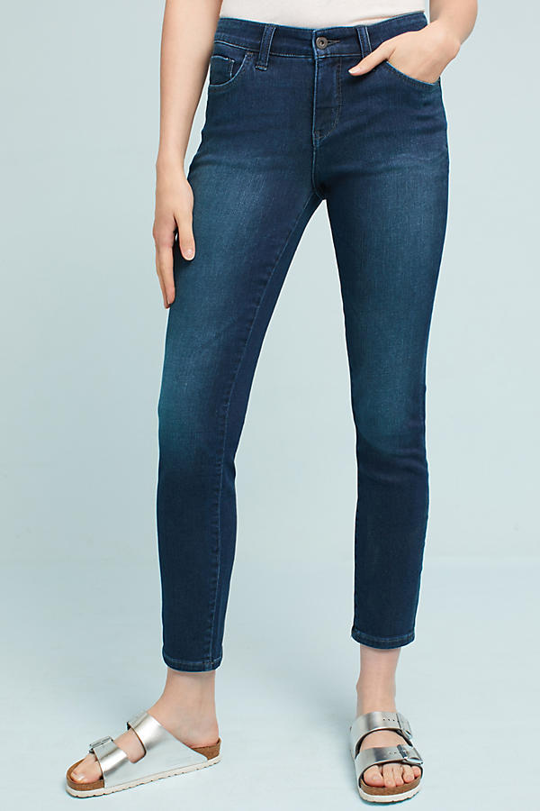 Slide View: 2: Pilcro Mid-Rise Skinny Ankle Jeans