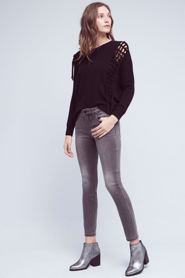 Pilcro Pilcro Stet Mid-Rise Ankle Jeans