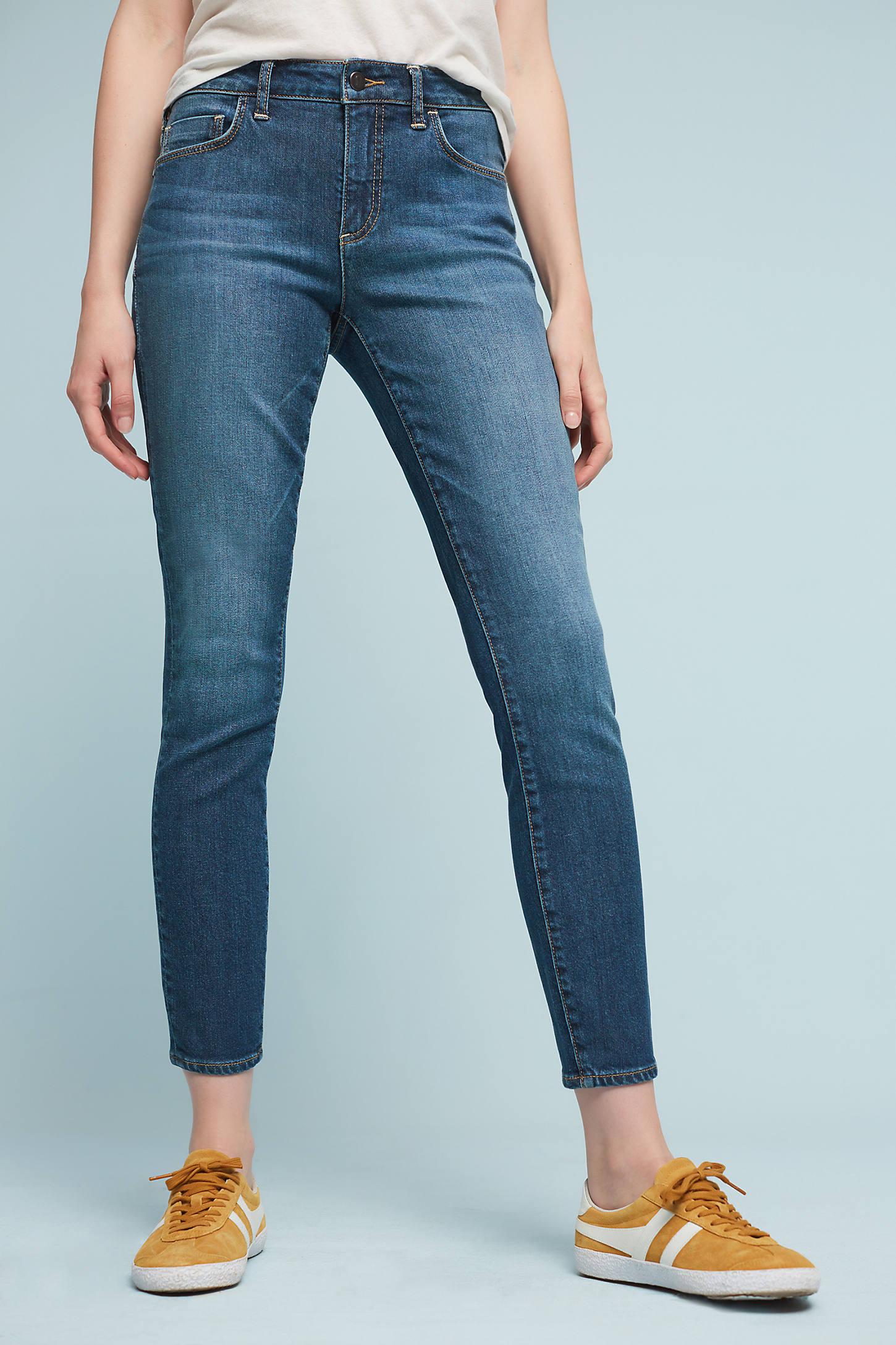 Pilcro Script High-Rise Skinny Jeans