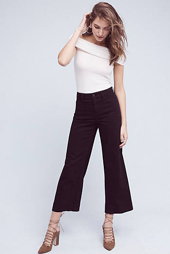 Pilcro Superscript Ultra High-Rise Wide-Leg Crops