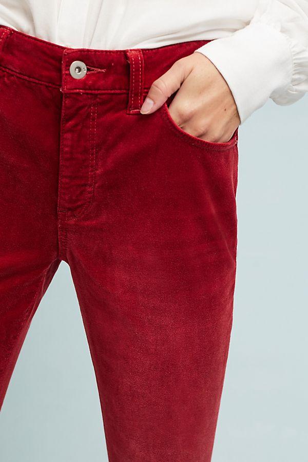Velvet High-Rise Sknny Ankle Jeans   Anthropologie