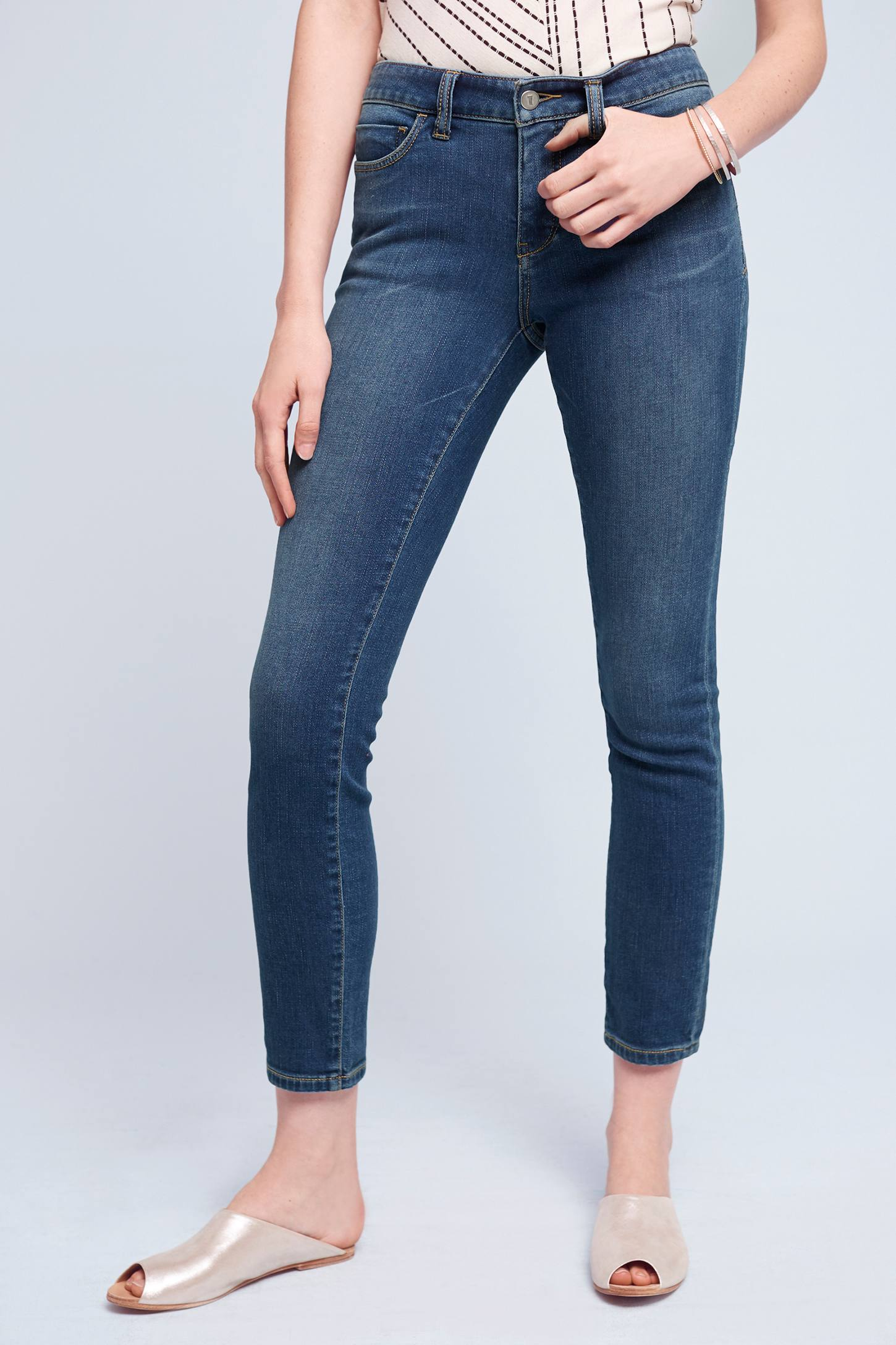Pilcro Stet Mid Rise Jeans Anthropologie