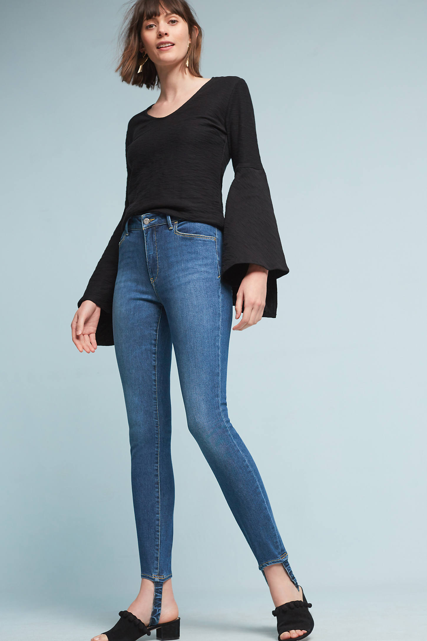Pilcro Stirrup High-Rise Skinny Jeans