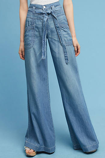 Wide Leg Jeans & Flare Jeans For Women | Anthropologie