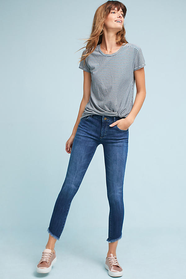 Slide View: 1: DL1961 Wagner Mid-Rise Skinny Ankle Petite Jeans