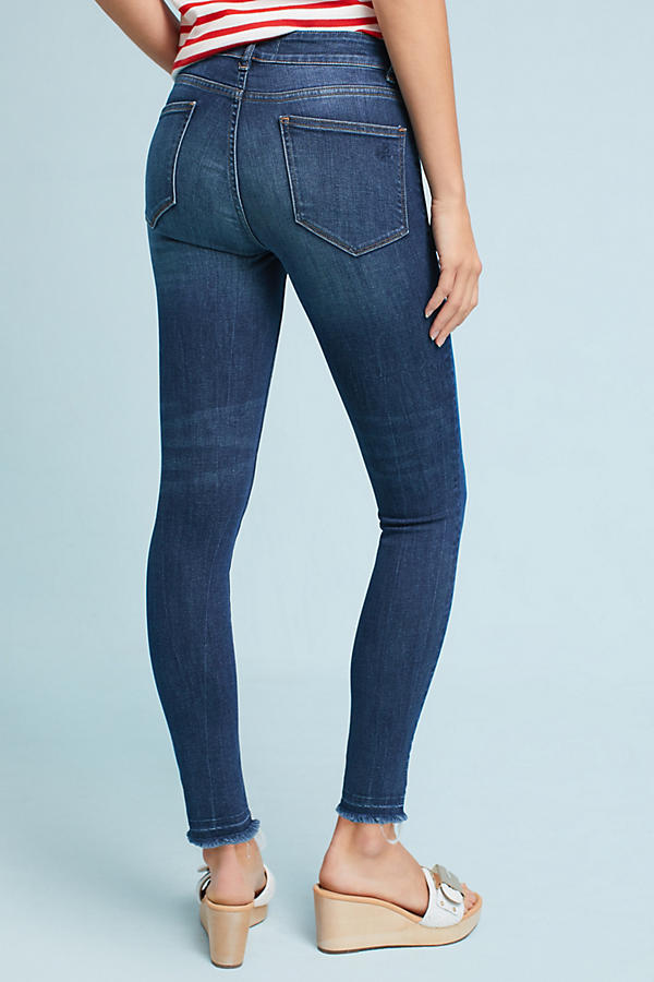 Slide View: 4: DL1961 Ryan High-Rise Skinny Cropped Petite Jeans