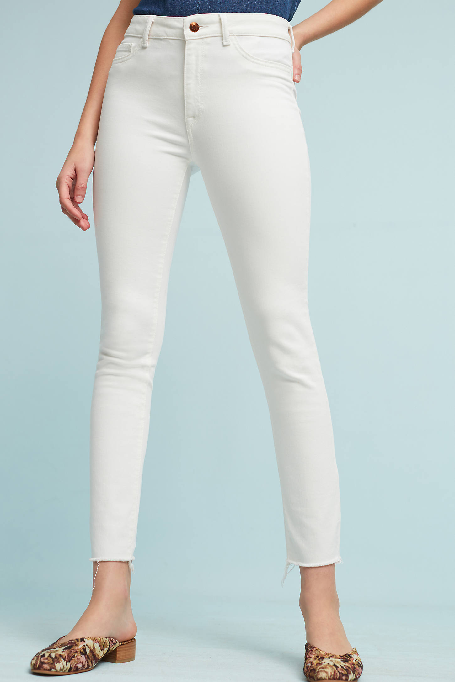 DL1961 Farrow High-Rise Skinny Ankle Jeans