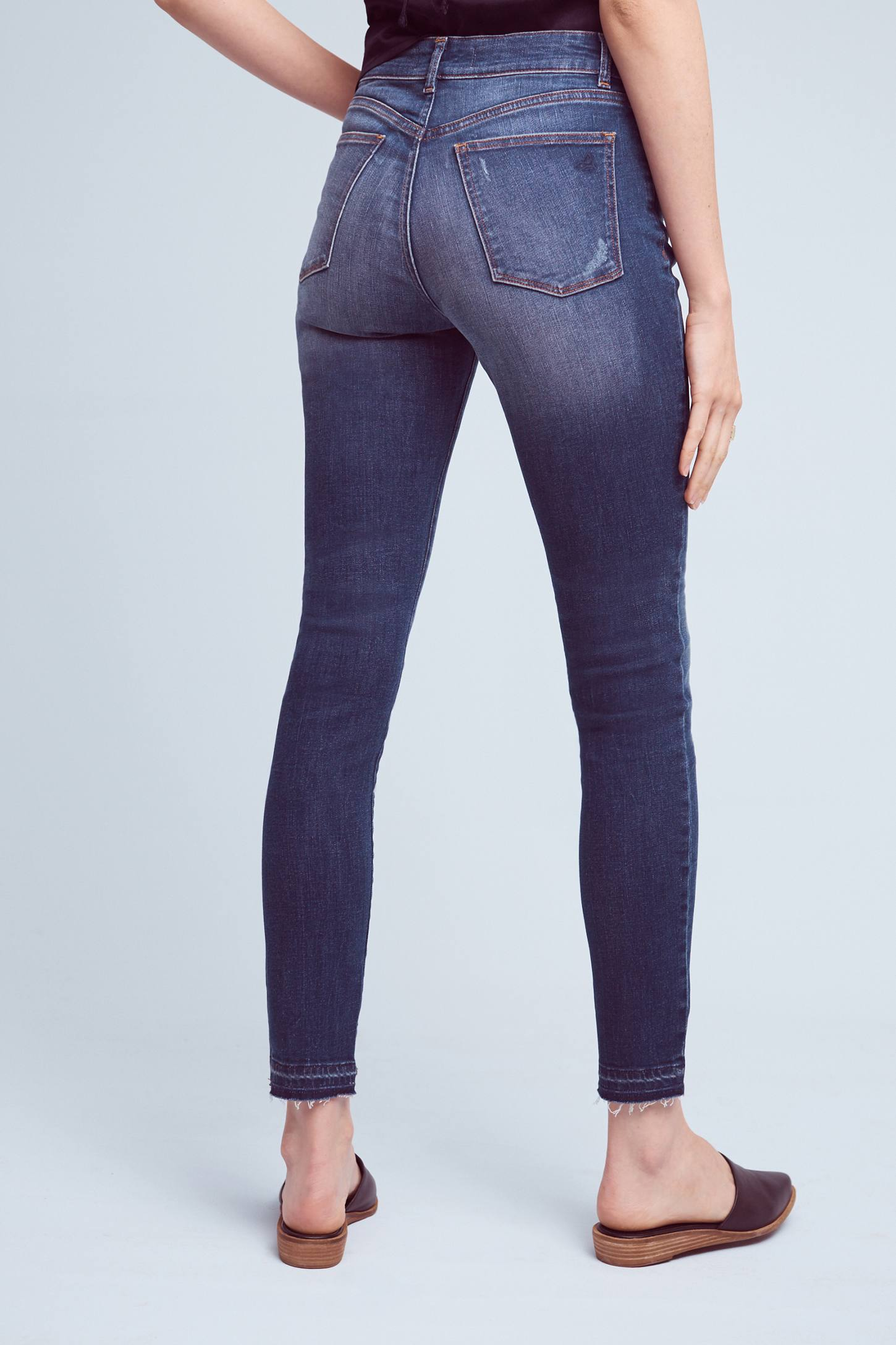 Slide View: 4: DL1961 Ryan High-Rise Skinny Petite Jeans