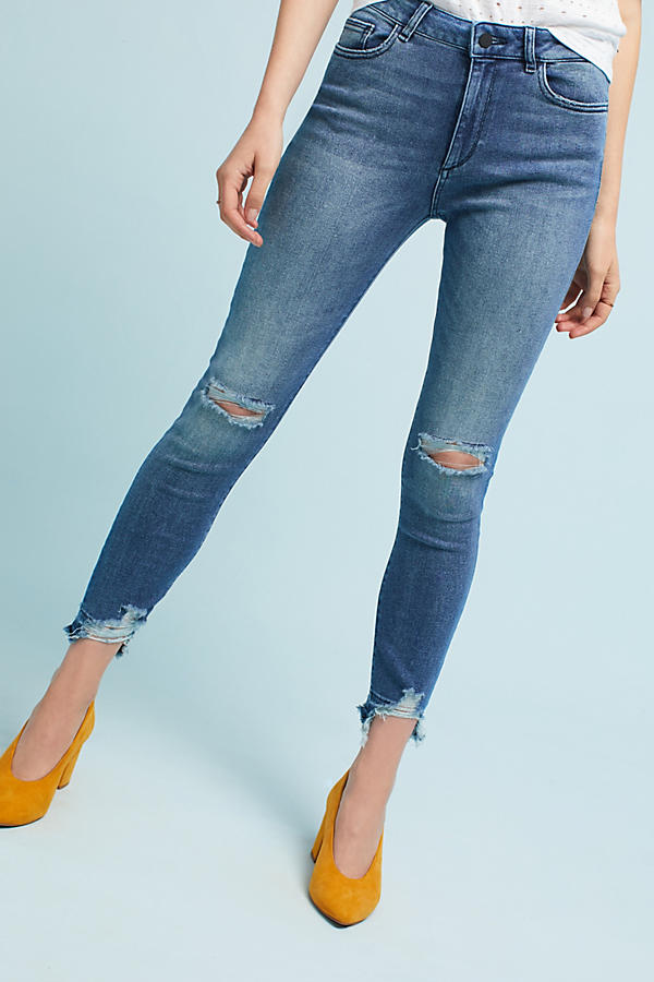 Slide View: 2: DL1961 Farrow High-Rise Skinny Jeans