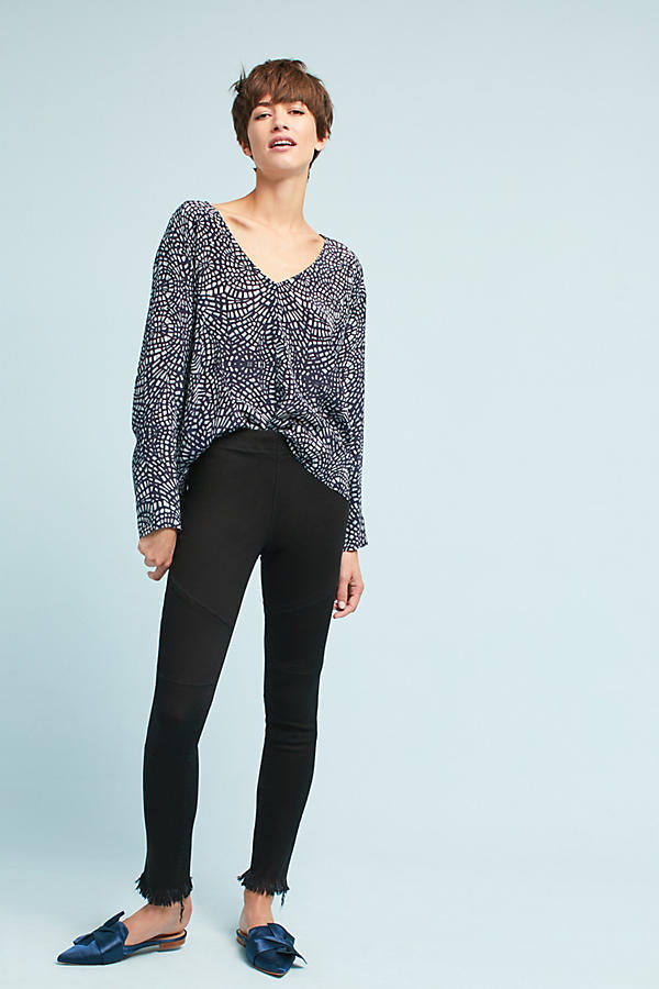 Slide View: 1: DL1961 Haven High-Rise Ultra-Skinny Leggings