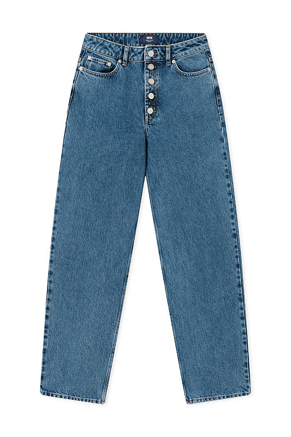 Wood Wood May Low-Rise Boyfriend Jeans