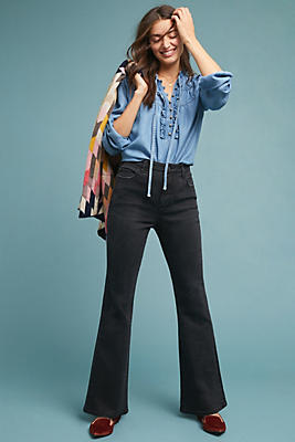 Pilcro High Rise Curvy Bootcut Jeans by Pilcro And The Letterpress