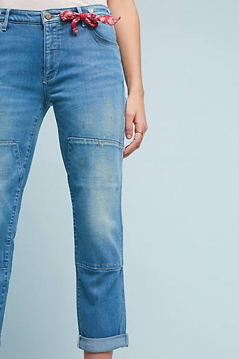 Pilcro Carpenter Mid-Rise Relaxed Jeans