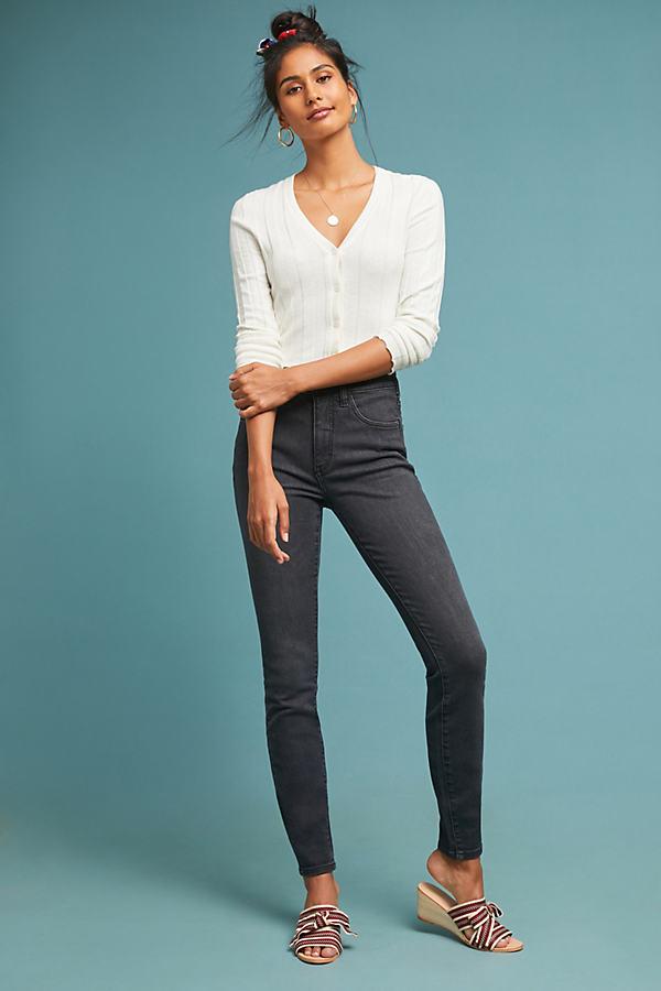 Pilcro Ultra High-Rise Skinny Jeans - Black, Size 32