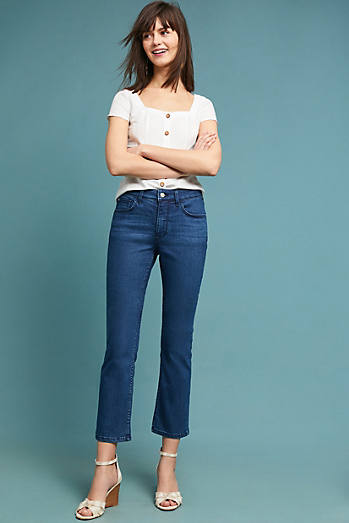 Pilcro High-Rise Cropped Bootcut Jeans