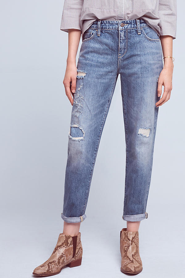 Pilcro High-Rise Relaxed Boyfriend Jeans | Anthropologie