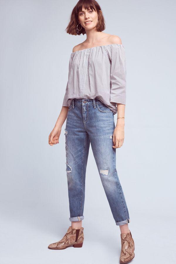 Pilcro Pilcro Hyphen High-Rise Relaxed Boyfriend Jeans