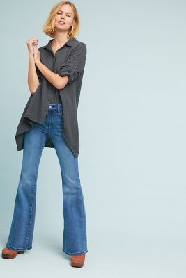 Pilcro Wharton High Rise Flare Jeans by Pilcro And The Letterpress
