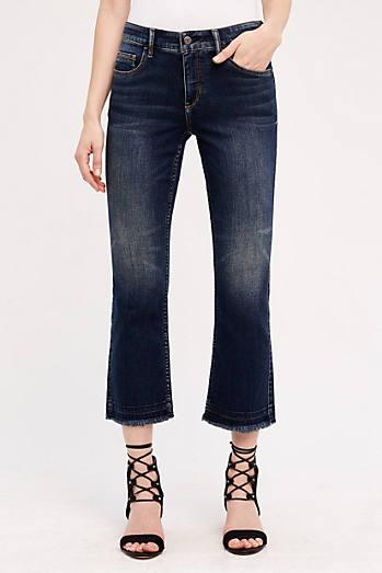 Pilcro Script High-Rise Crop Jeans