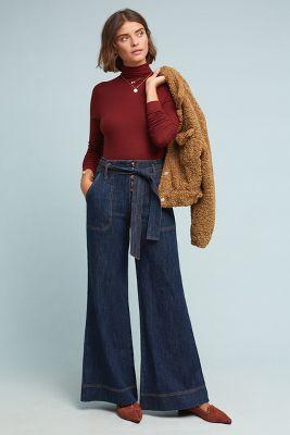 5f642506533 Pilcro Ultra High-Rise Wide-Leg Jeans  150