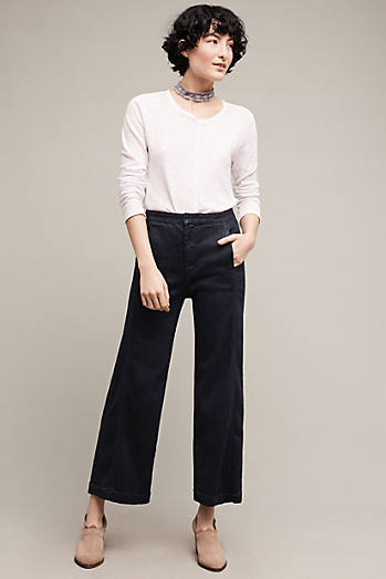 Pilcro High-Rise Crop Jeans
