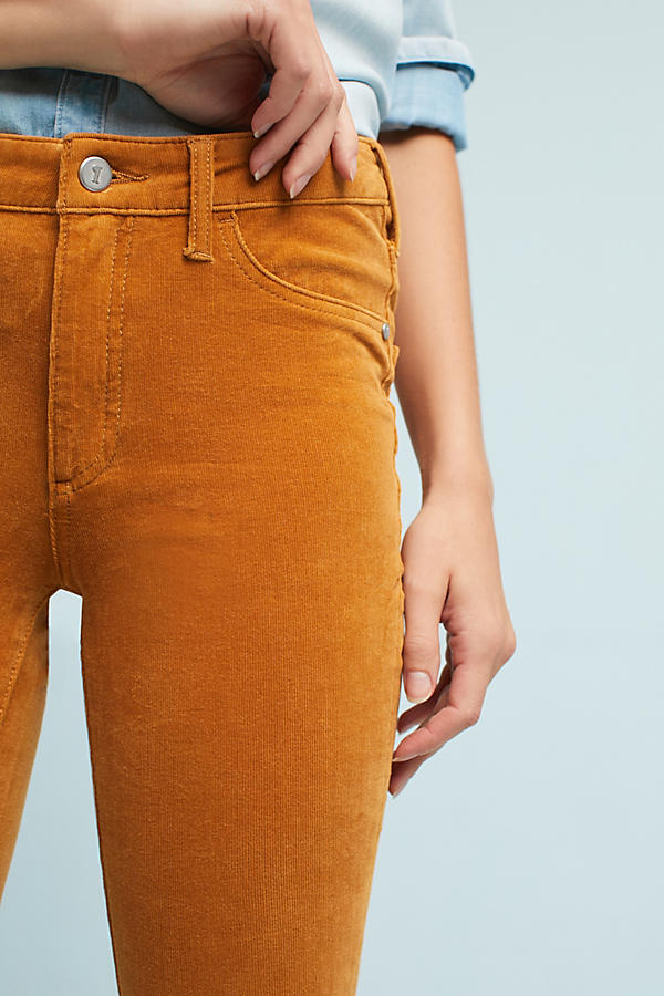 Slide View: 2: Pilcro Corduroy High-Rise Skinny Jeans