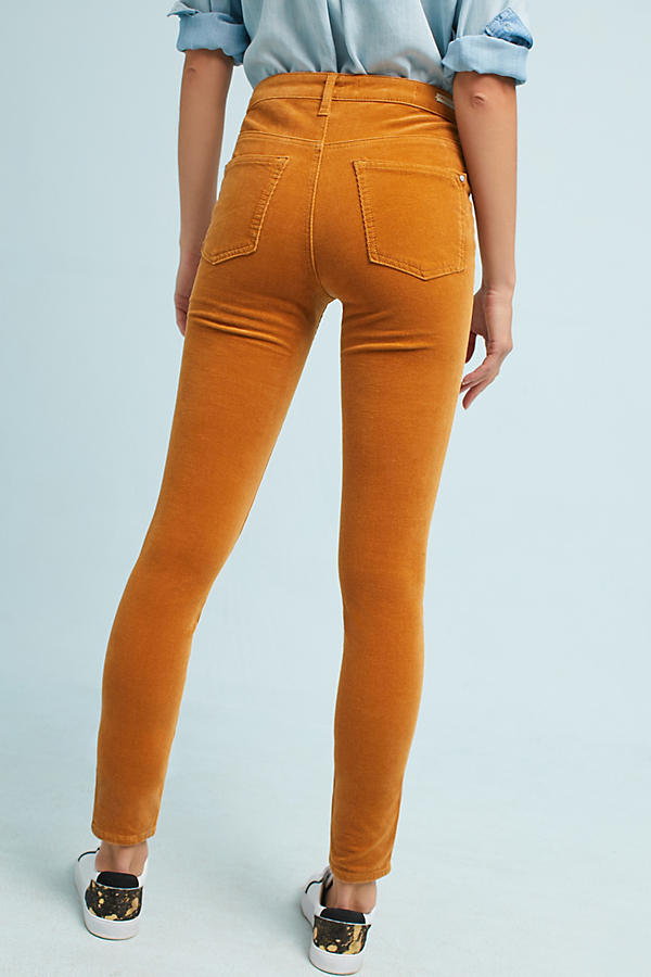 Slide View: 4: Pilcro Corduroy High-Rise Skinny Jeans