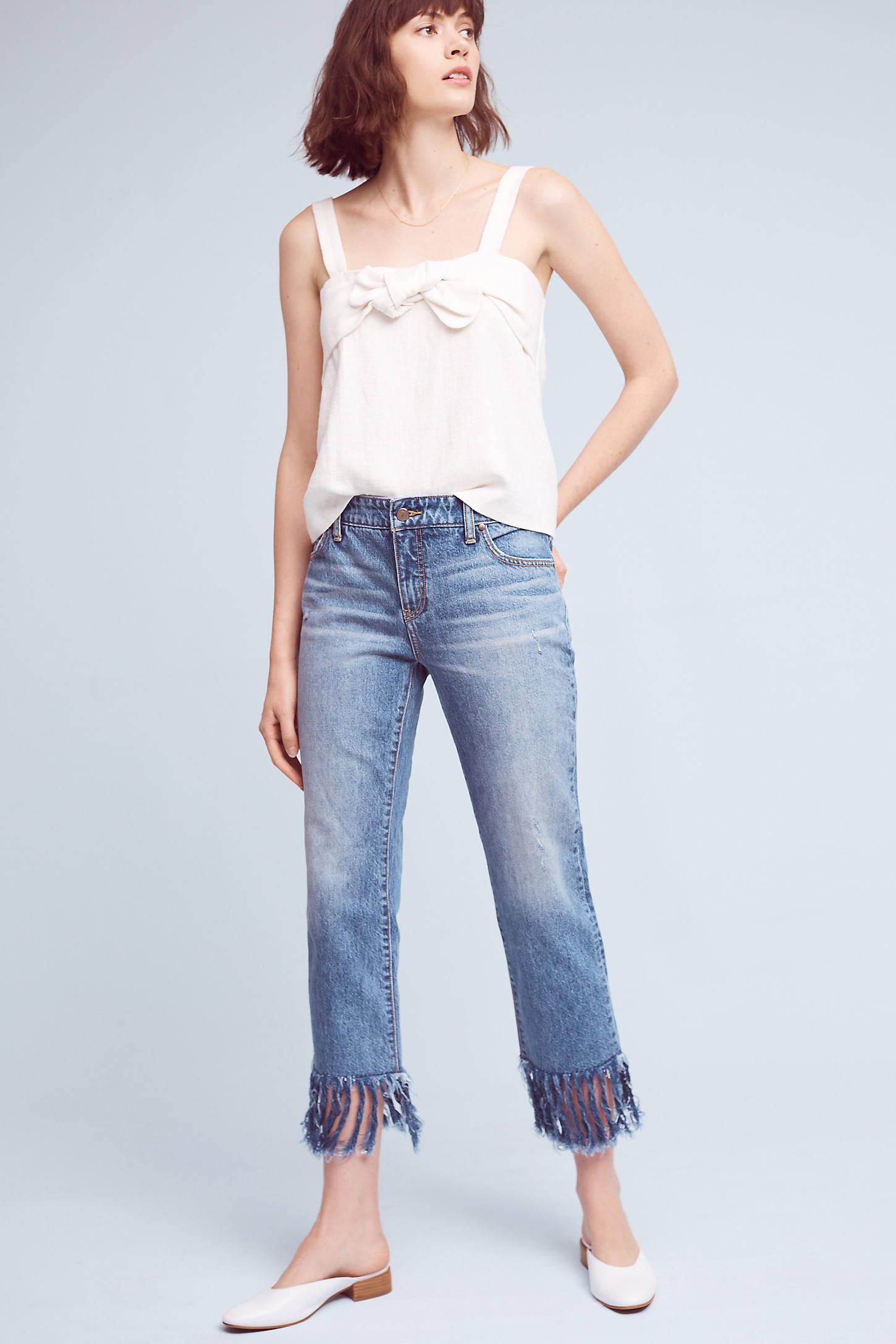 Pilcro Hyphen Mid-Rise Relaxed Boyfriend Jeans