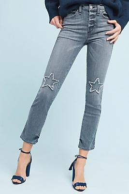 Slide View: 1: McGuire Vintage Mid-Rise Slim Jeans