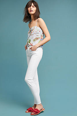 Slide View: 1: McGuire Newton Mid-Rise Cropped Skinny Jeans
