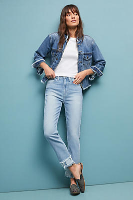 Slide View: 1: McGuire High-Rise Vintage Slim Jeans