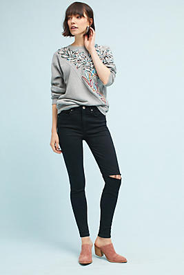 Slide View: 1: McGuire Newton High-Rise Skinny Jeans