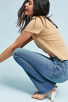 Slide View: 1: McGuire Gainsbourg Mid-Rise Bootcut Jeans