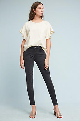 Slide View: 2: McGuire Newton Mid-Rise Skinny Ankle Jeans
