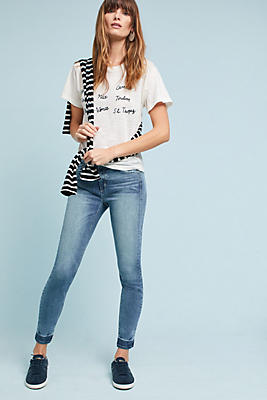 Slide View: 1: McGuire Newton Mid-Rise Skinny Ankle Jeans
