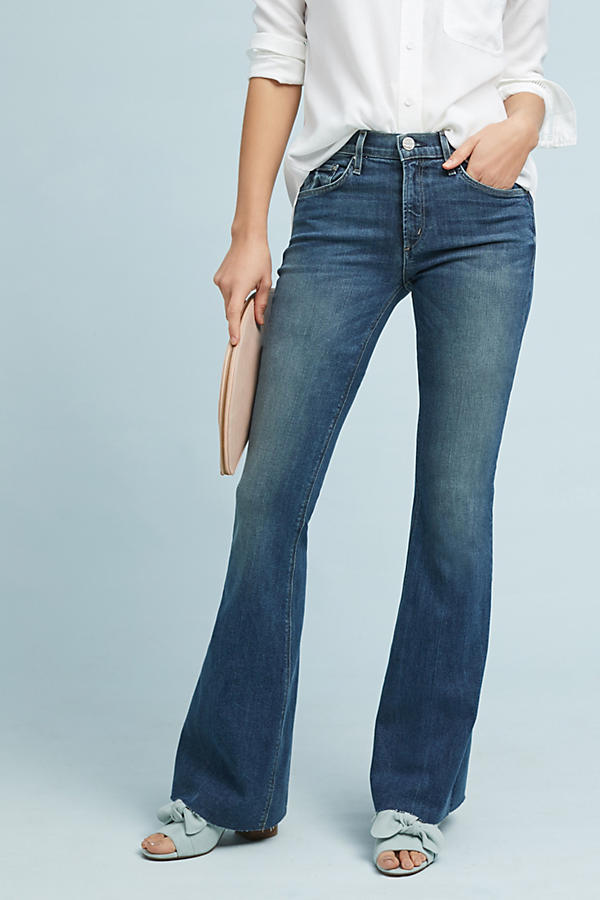 Slide View: 2: McGuire Majorelle Mid-Rise Flare Jeans